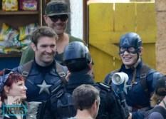 Fun on the set of Captain America: Civil War