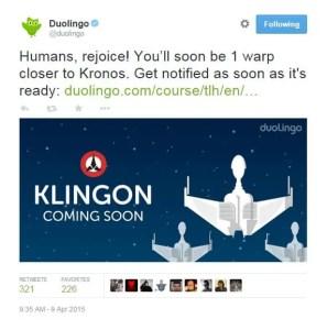Duolingo-Post