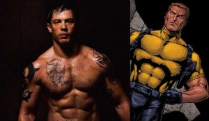 Tom Hardy and the character he was set to portray, Rick Flag