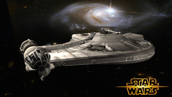 "Dash Rendar's Spaceship ""Outrider"" Considered Canon In Star Wars Continuity #Star Wars #SOTE"