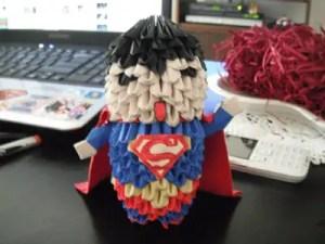 Superman-3D-origami
