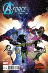 A-Force #1 - Jorge Molina 1 in 25 Variant