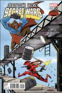 Deadpool's Secret Secret Wars 2 - Bobby Rubio 1 in 25 Variant
