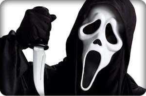 Poor Ghostface......