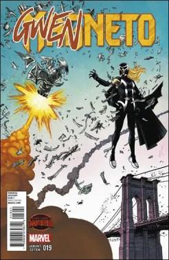 Magneto #19 - Declan Shalvey Gwenneto Variant