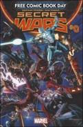 Marvel Secret Wars 0 - FCBD