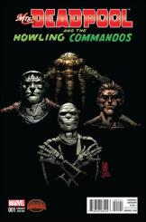 Mrs. Deadpool and the Howling Commandos #1 - Giuseppe Camuncoli 1 in 20 Variant