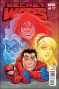 Secret Wars #1 - Amanda Conner Women of Marvel Variant