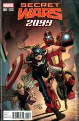 Secret Wars 2099 #1 Ron Lim 1 in 25 Variant