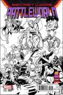 Secret Wars Battleworld #1 - Paco Medina Previews C2E2 Variant
