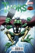 Thors #1 - Dale Keown 1 in 25 Variant