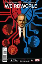 Weirdworld #1 - Dave Johnson 1 in 15 Marvel's Agents of SHIELD Variant