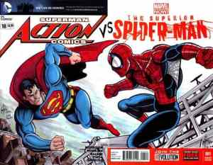 Remarked homahe to Superman vs. Spider-Man #1 by Ken Haeser
