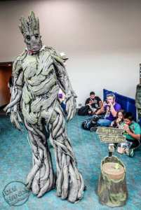 SDCC 2015 Cosplay Groot Tips