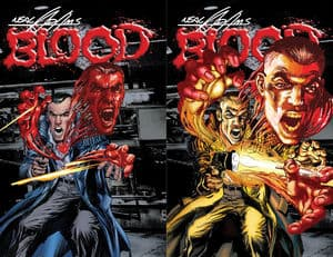 Neal Adam's TPB Bloodwith with a 3-D animated cover