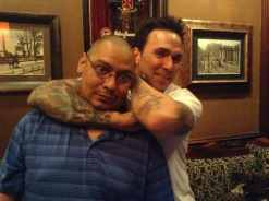 Manny w/ Jason David Frank