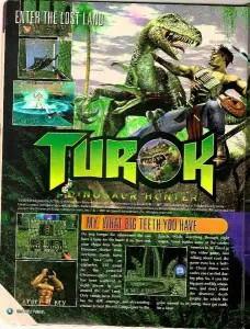 Original Turok Advertising
