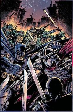 Batman Teenage Mutant Ninja Turtles #3 Kevin Eastman variant