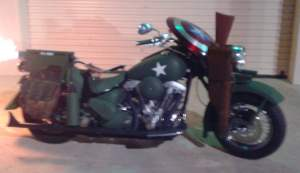 Captain America Motorcycle