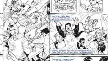 PopCultHQ First Look Faith 1 Coloring Book Edition From Valiant 7 20
