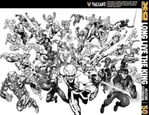 B&W Sketch Jam Cover by X-O ALL-STARS