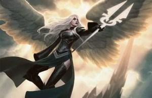 Avacyn, Angel of Hope | Art by Jason Chan