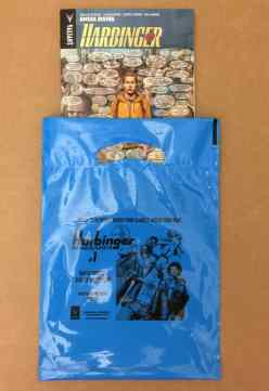 HARBINGER RENEGADE sales bags, perfect for holding all of your comic shop purchases!