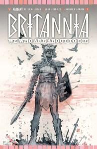 Britannia Cover B by DAVID MACK