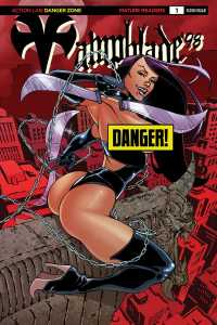 Vampblade 98 Cover D – limited variant Risqué (limited to 2000): Pow Rodrix