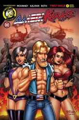 Cover D - Bill McKay (Action VHS)