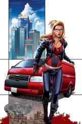 GFT Robyn Hood I Love NY #9 - Cover C by Allan Otero