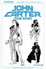 John Carter The End #1 - Cover F by Hayden Sherman (10 Copy Art Board Variant)