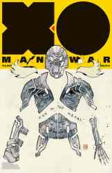 X-O Manowar Icon Variant by DAVID MACK
