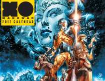 X-O MANOWAR 2017 CALENDAR – Cover Art by Lewis LaRosa