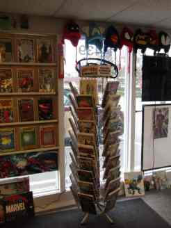 Ancient Comics has a spinner rack! (Two actually)