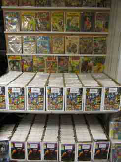 Back issues in the long boxes are 50% off guide!