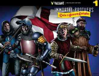 IMMORTAL BROTHERS: THE TALE OF THE GREEN KNIGHT #1 – Cover B by Mico Suayan