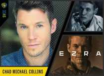 Ezra in BYUtv's Extinct; franchise star Sgt Brandon Beckett in Sony Pictures' SNIPER films; Gerhart Frankenstein in ABC's Once Upon a Time""