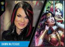 "Best known for the interior artist for ""Harley Quinn and Her Gang of Harleys"""