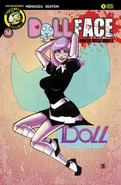 Dollface #6 - Cover E by Marcelo Trom