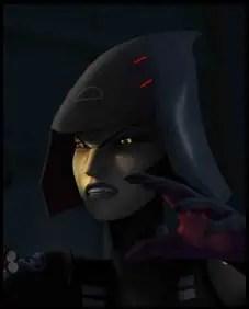 Sarah Michelle Gellar - Seventh Sister, Star Wars: rebels