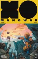 X-O Manowar #3 - Cover B by Kenneth Rocafort