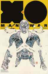 X-O Manowar #3 - Icon Variant by David Mack