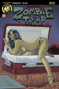 Zombie Tramp #36 - Cover E by Andrew Herman