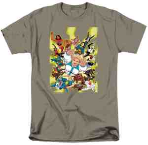FAITH & THE FUTURE FORCE T-Shirt – Artwork by Kano