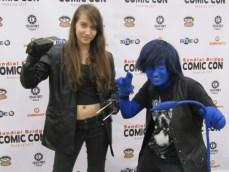 X-23 and Nightcrawler