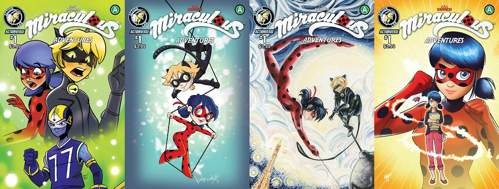 Preview Action Lab's MIRACULOUS ADVENTURES OF LADYBUG & CAT NOIR #1 by Bryan Seaton, Nicole D'Andria, Brian Hess, Darné Lang & Justin Birch