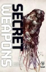 Secret Weapons #3 - Variant Cover by ROBERTO DE LA TORRE