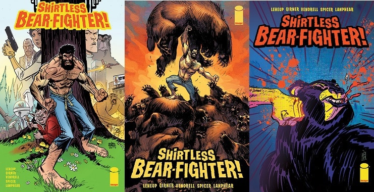 Preview Image Comics' SHIRTLESS BEAR-FIGHTER #1 #WarOnBearror