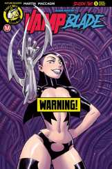 VAMPBLADE SEASON 2 #5 - Cover B – Risqué variant (limited to 2000) by Winston Young